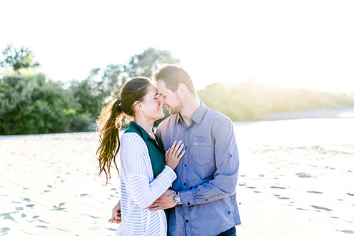 Engagement Shoot am Strand